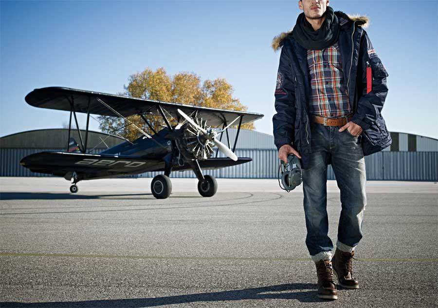 pilot-in-jeanshosen