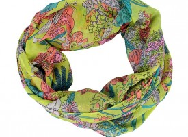 Schals und Tücher als Accessoire im Sommer