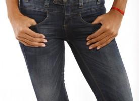 Modische Damenjeans aus dem Onlineshop