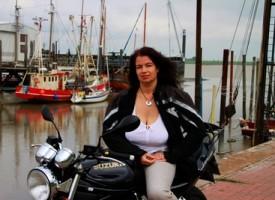 Lederjacken im Stil der Biker