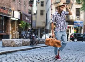 Ein kleinkarierter Mode Trend