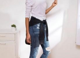 Zerrissen & Gepatched: Der neue Jeans- Trend