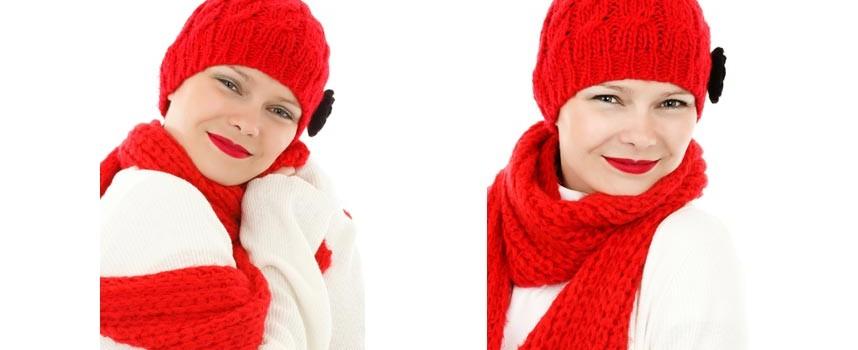 Trendfarben für den Winter: Aurora Red