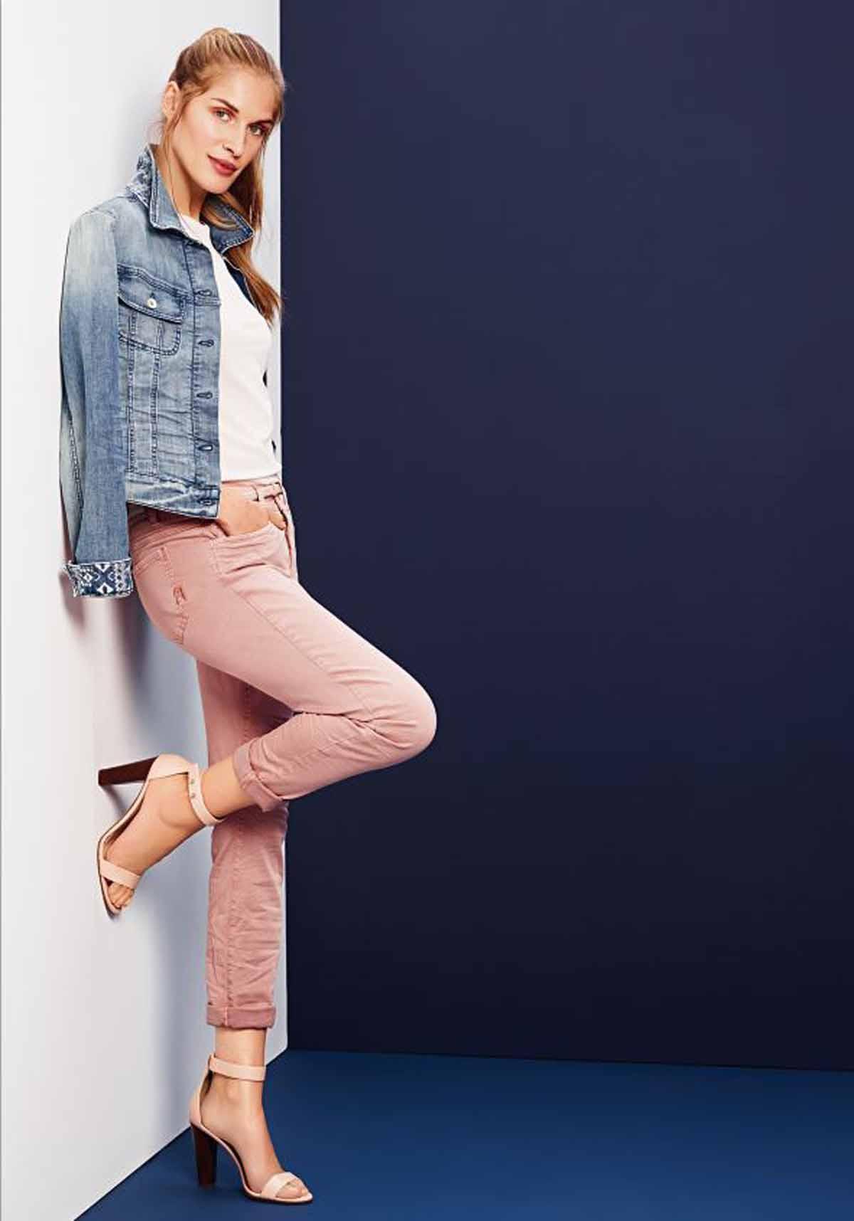 78-Jeans Rosajeans Jeansjacke