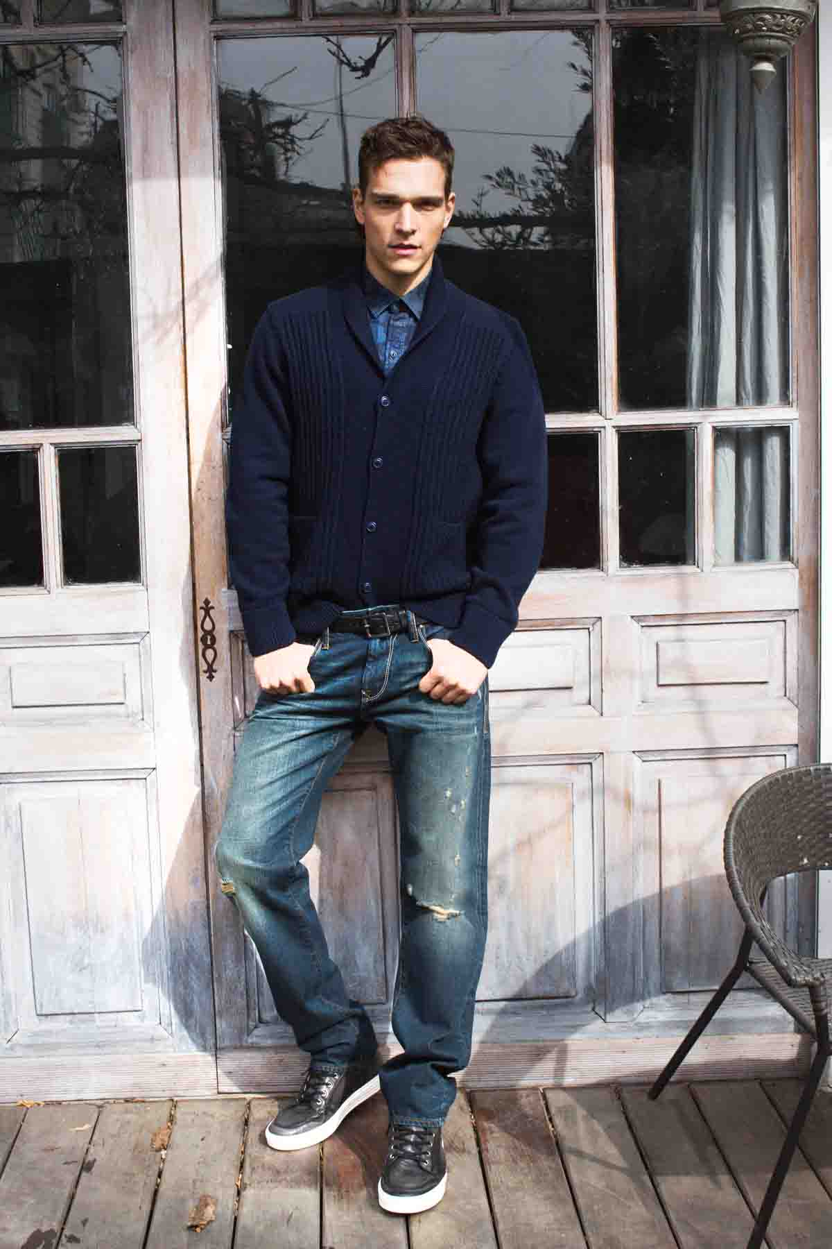 Herrenmode Männerstyle Pullover