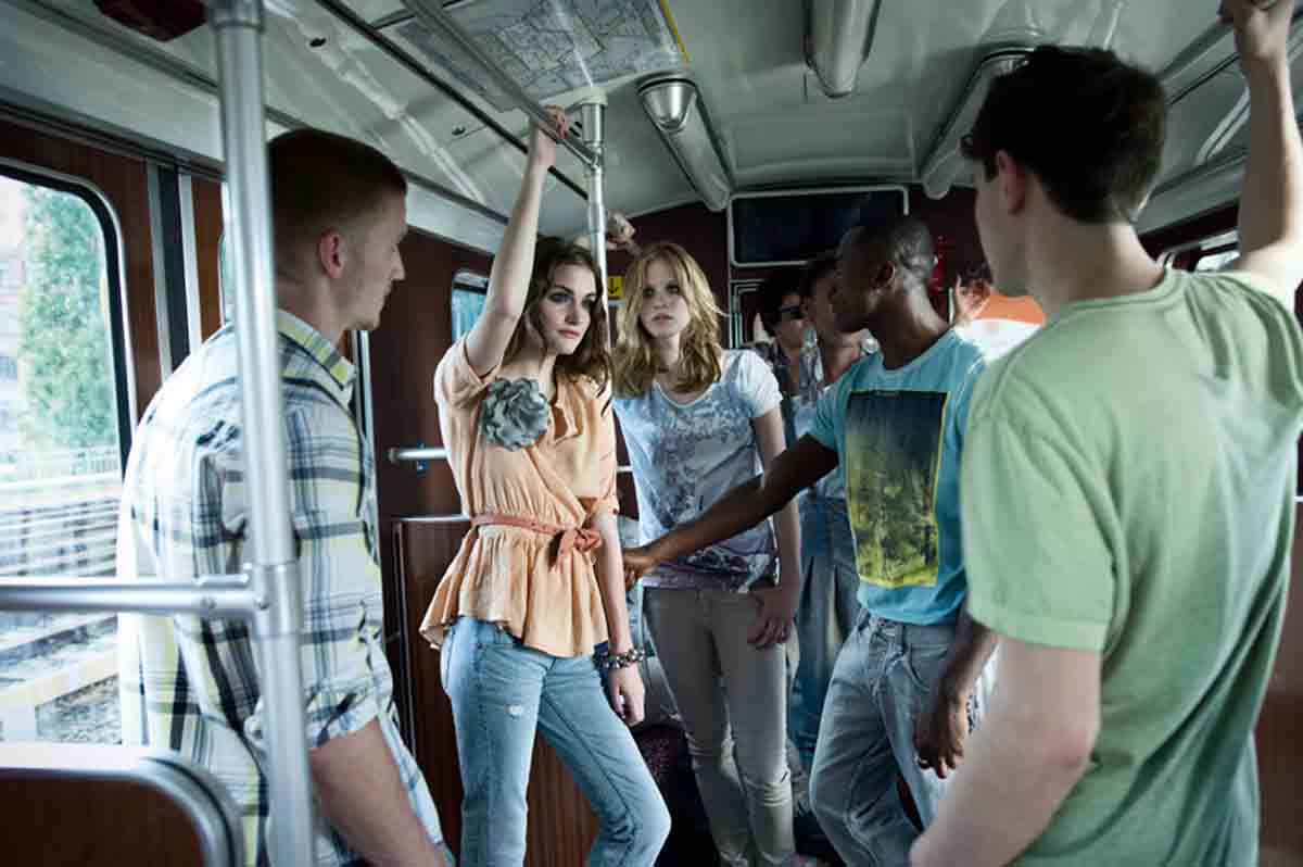 Pastelltöne Modetrends Jeans
