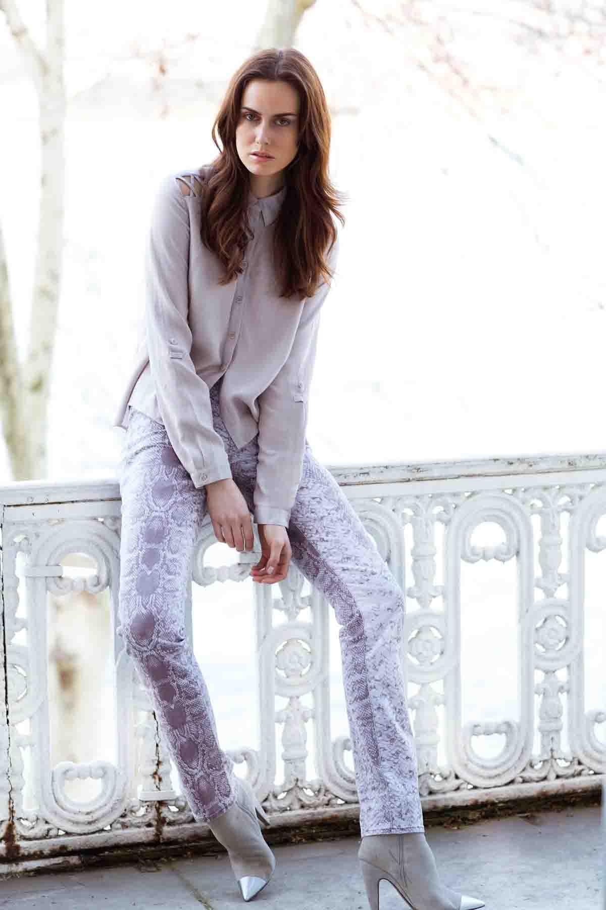 Pastelltöne Modetrends Wintermode