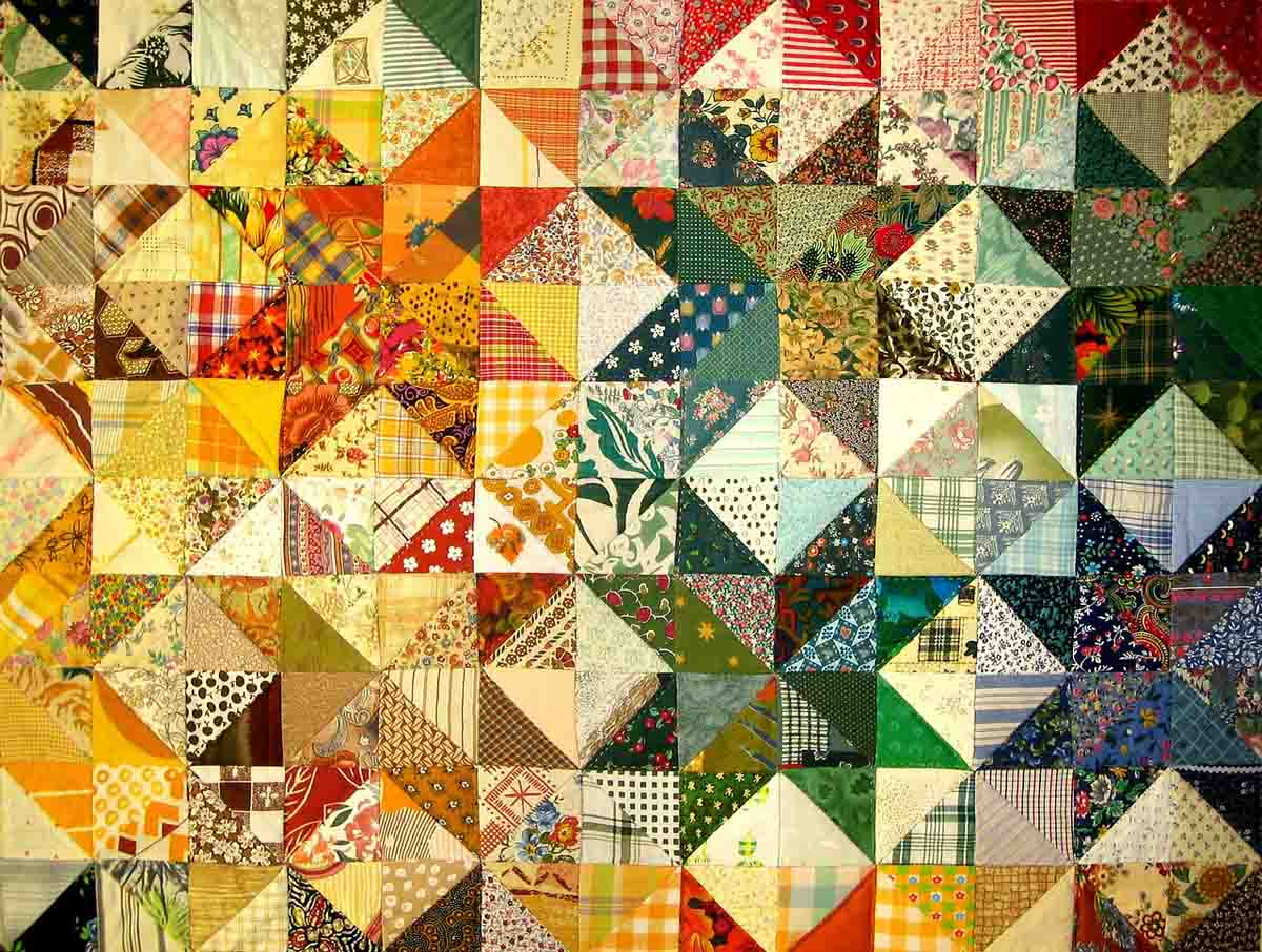 Patchwork Muster Mustertrend