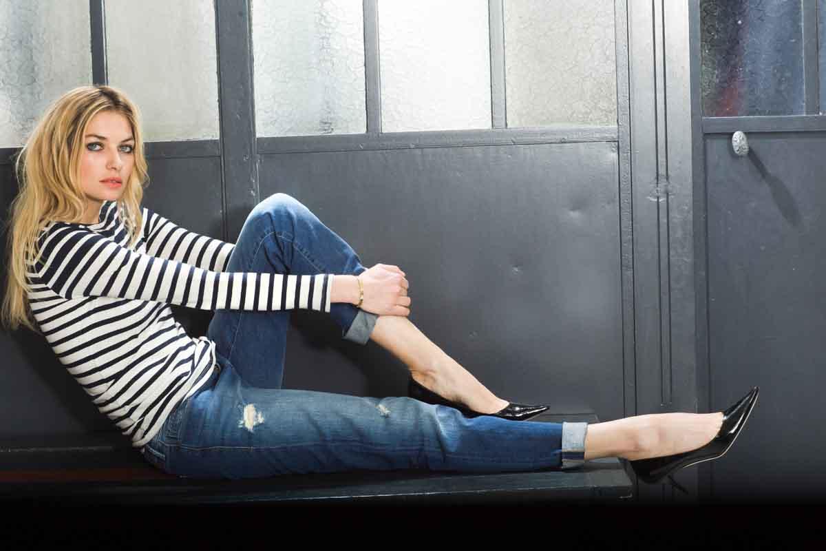 Usedlook 78-Jeans Streifen