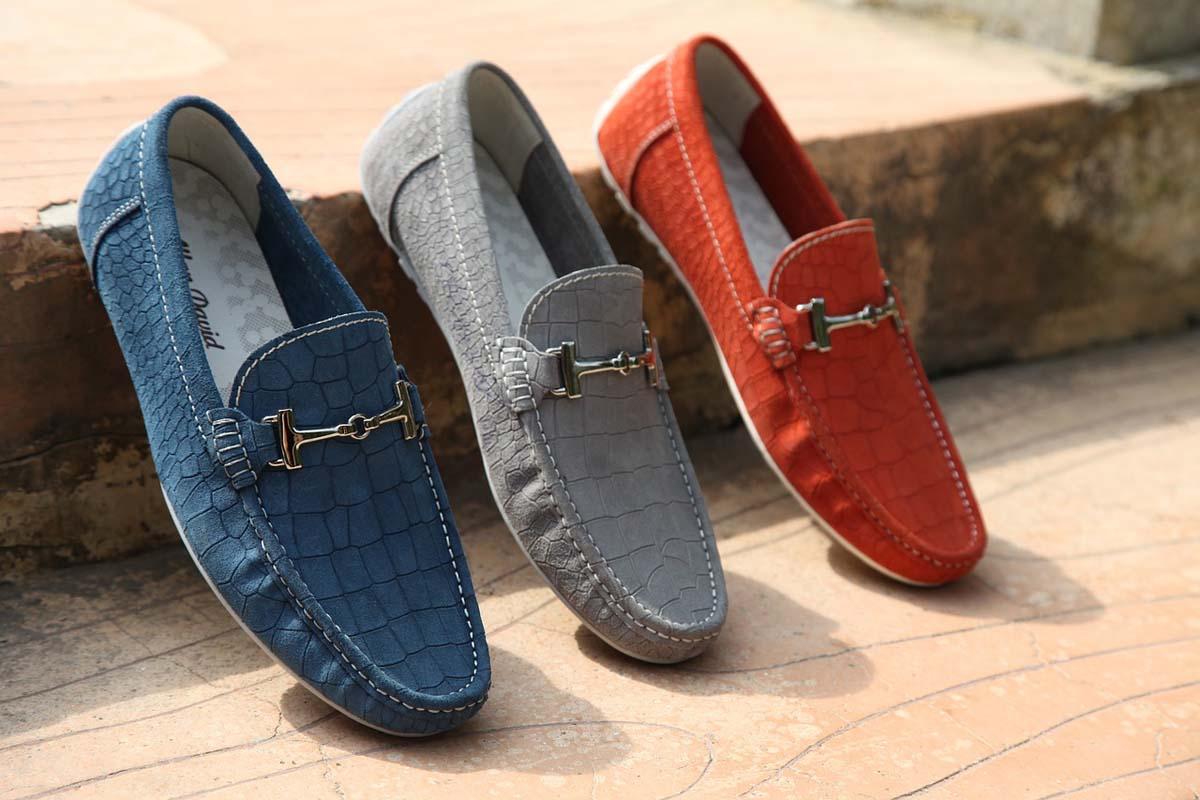 Herrenschuhe Loafers Slipper
