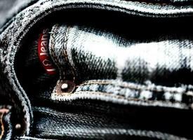 Blue Jeans mit grünem Flair