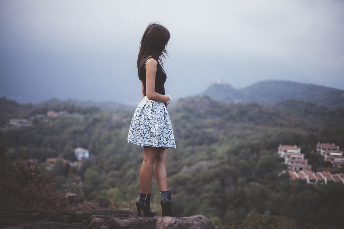 Blumenrock Frauenmode Modetrends