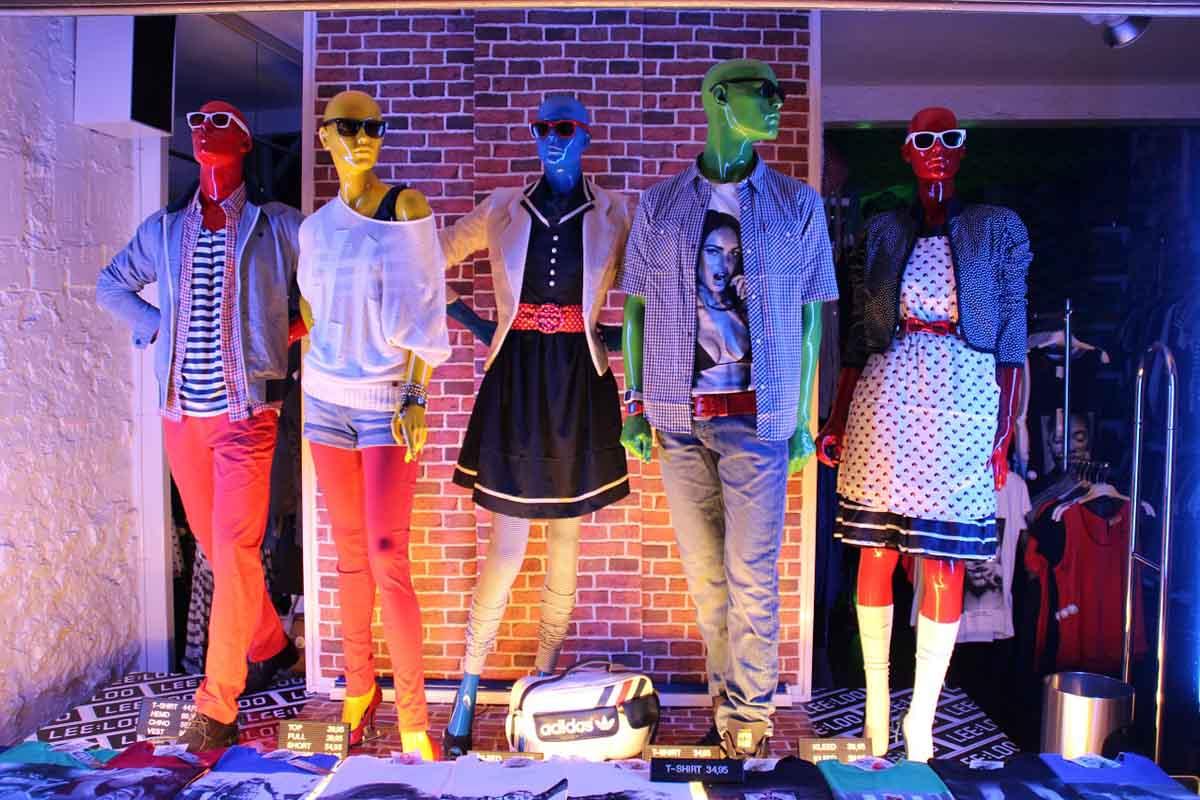 Lookbook Schaufensterpuppen Modetrends