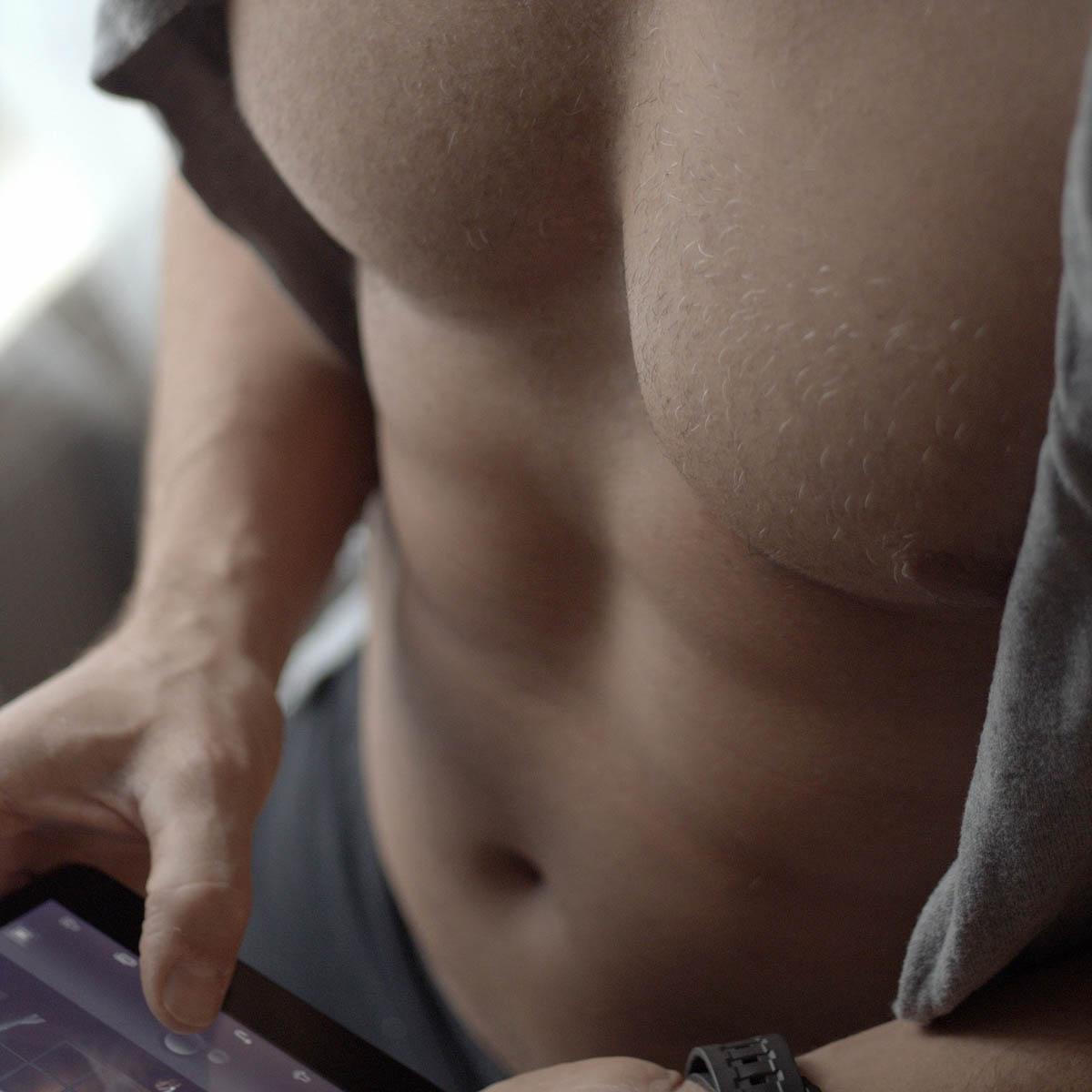 Männerbrust Brust Malemodel
