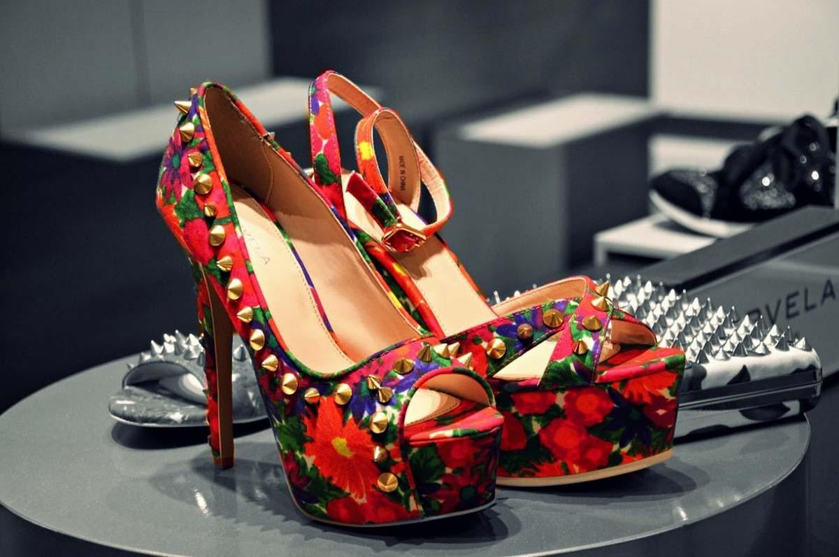 Schuhe Nieten Highheels