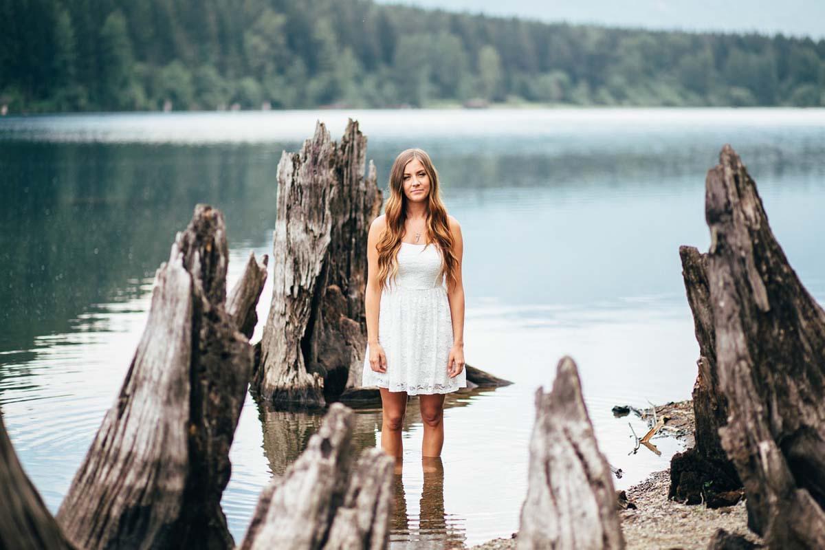 Spitze Kleid Weiß