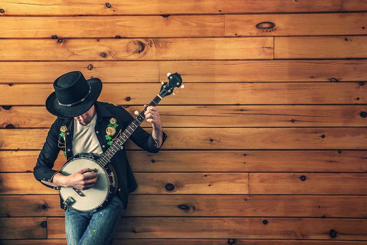 Jeans Gitarre Musiker