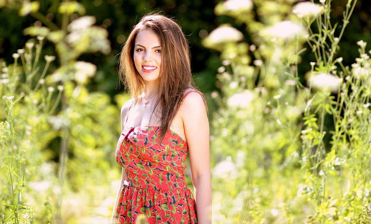 Melonenkleid Kleid Trendkleid