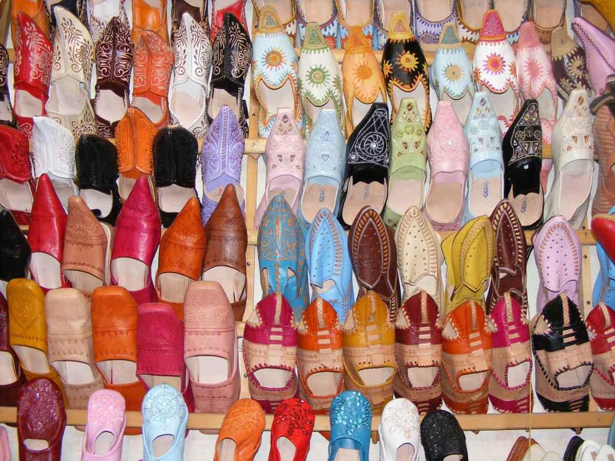 Babouche Souk Schuhe