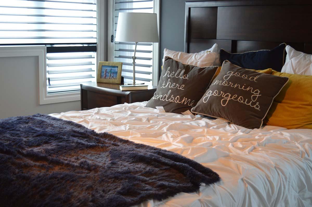 Bett Schlafen Hotelzimmer