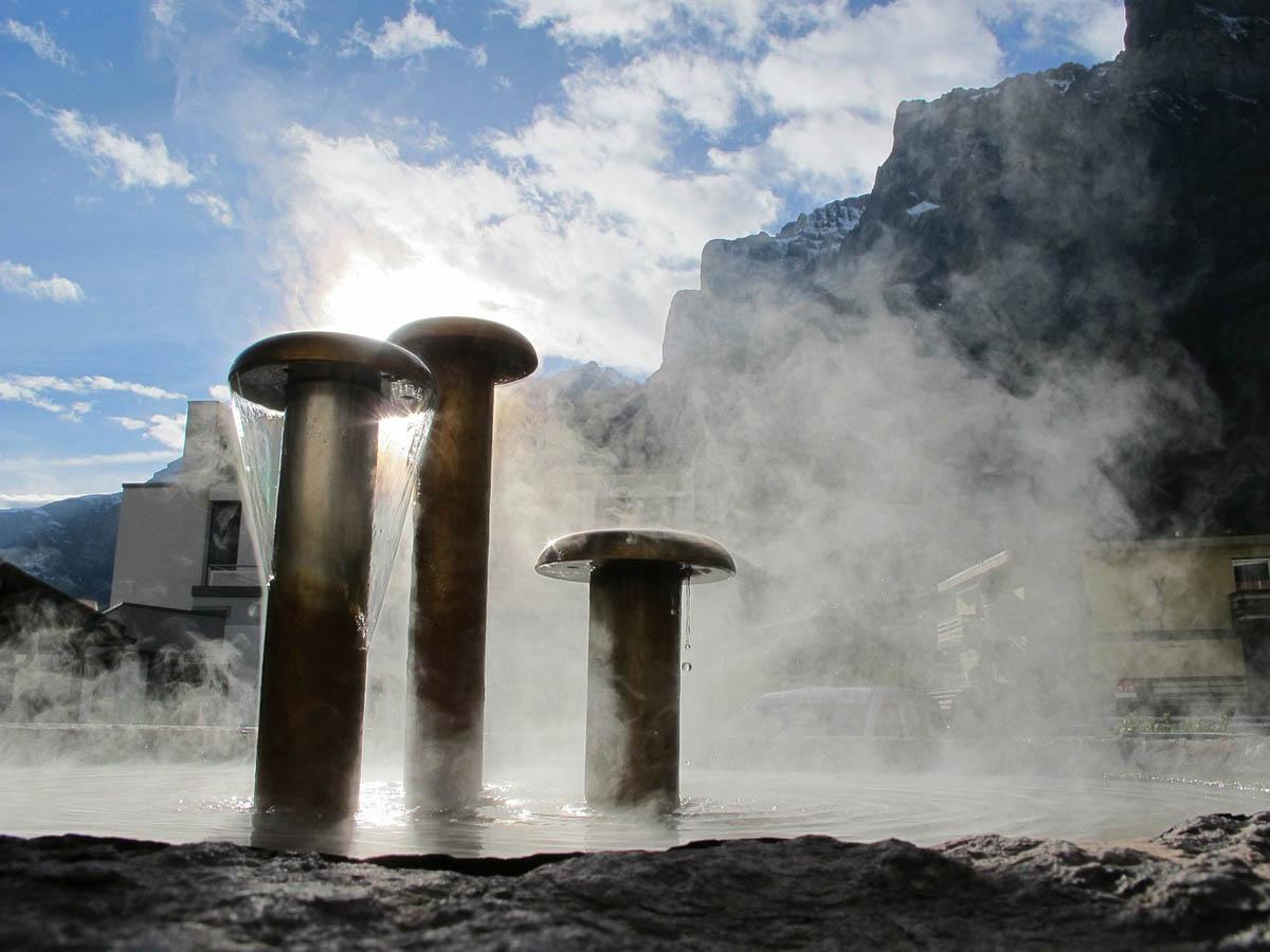 Thermalwasser Quelle Wasserquelle