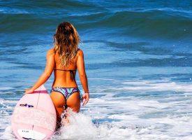 Strand Styles für Surfer Girls