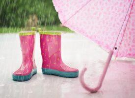 Es regnet, es regnet, aber ihr werdet nicht nass! Regenbekleidung 2016