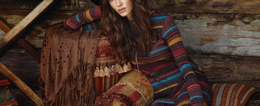 Boho Look im Winter