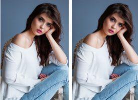 Neuester Jeanstrend: Kleid zu Jeans