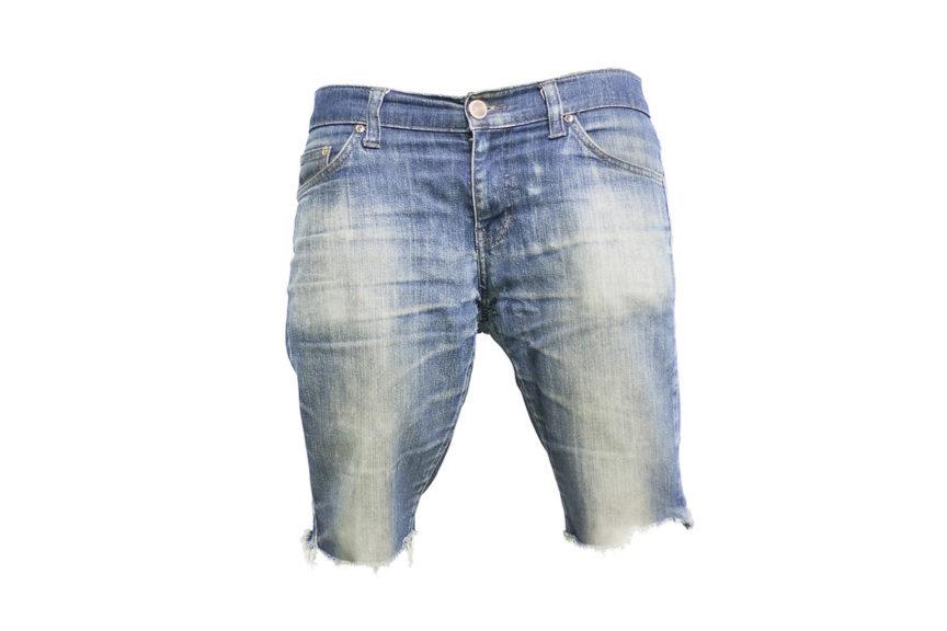 ausgefranste Jeans Cutout