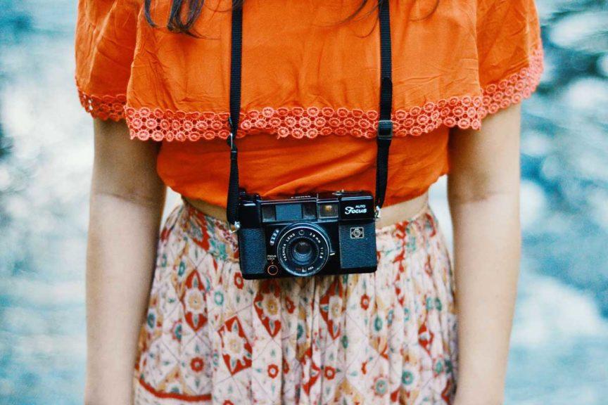 Ethnolook Kamera Orange