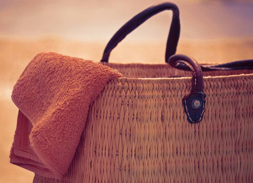 Korbtasche Strandtasche Beachbag