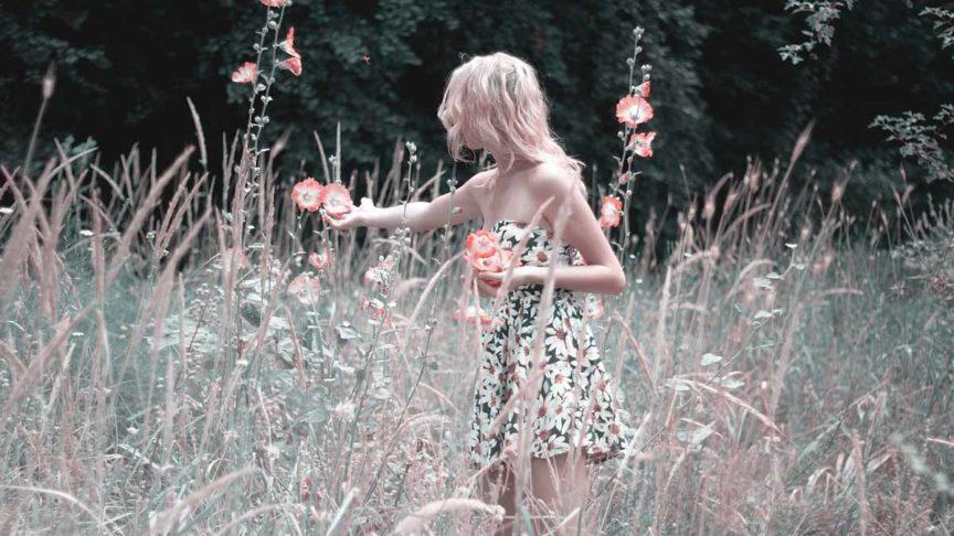 Sommerkleid Blumenkleid Kleid