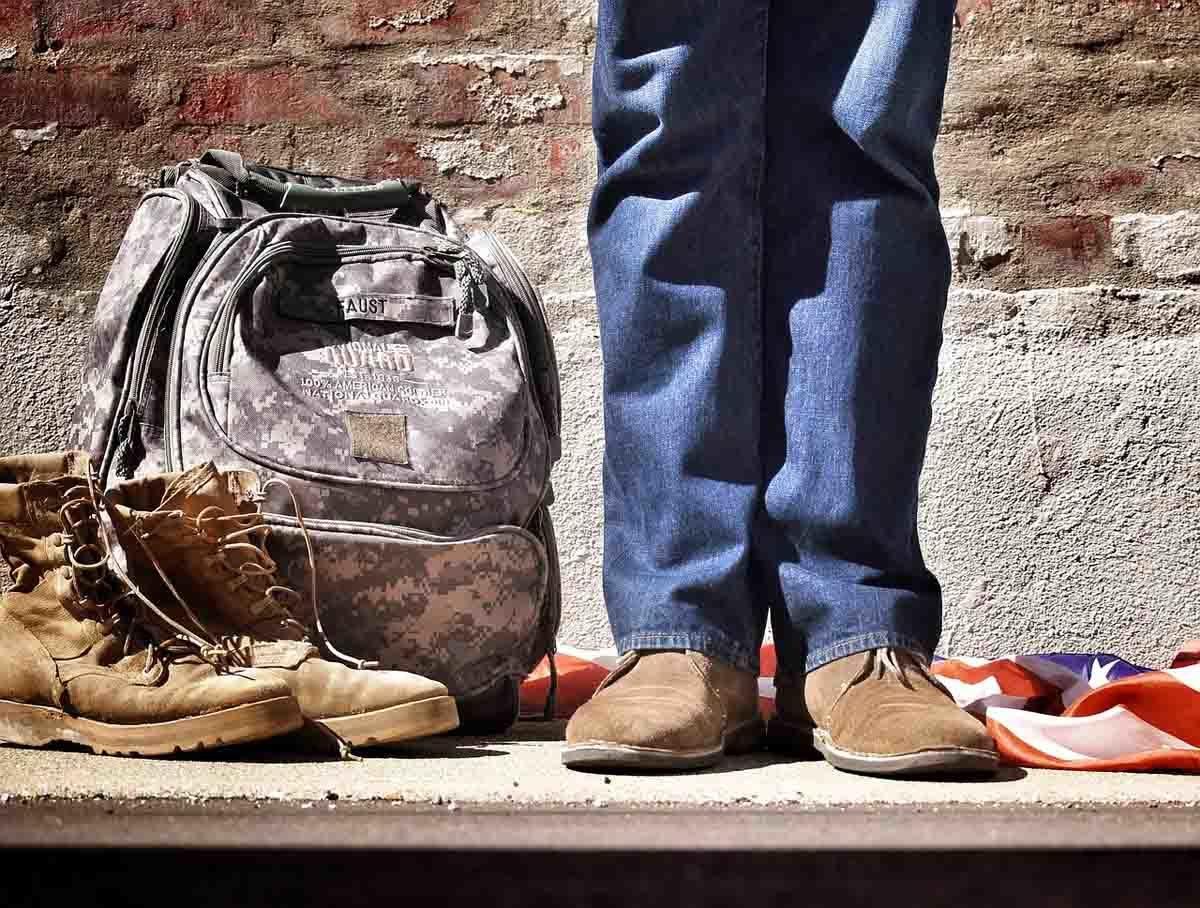 Jeanshose Wanderung Stiefel