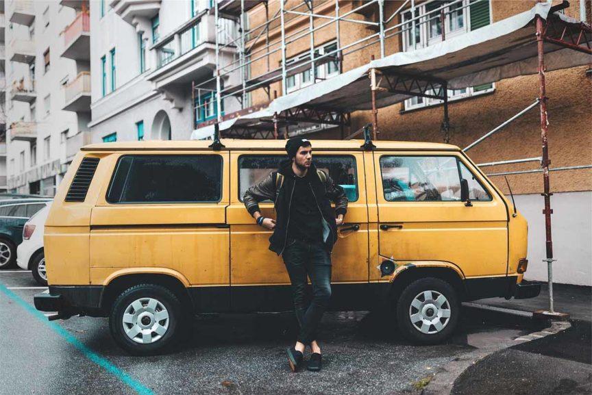 VWbus Herrenmode Streetstyle