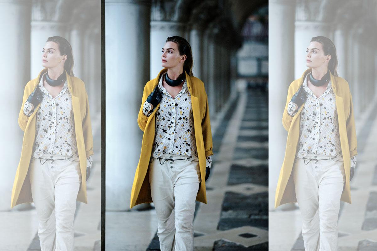 Jeans Damenjeans Weiß