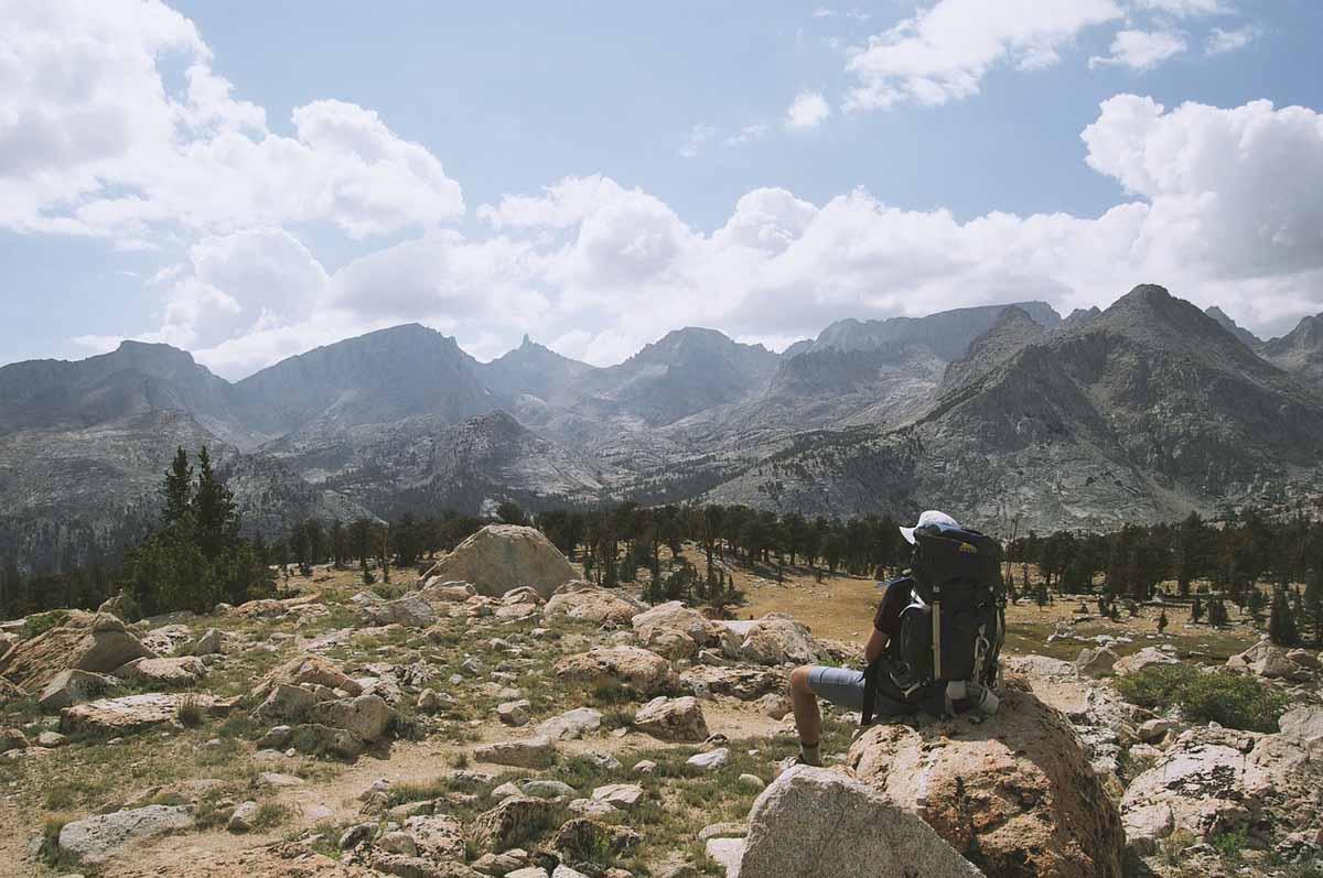 Wandern Berge Rucksack