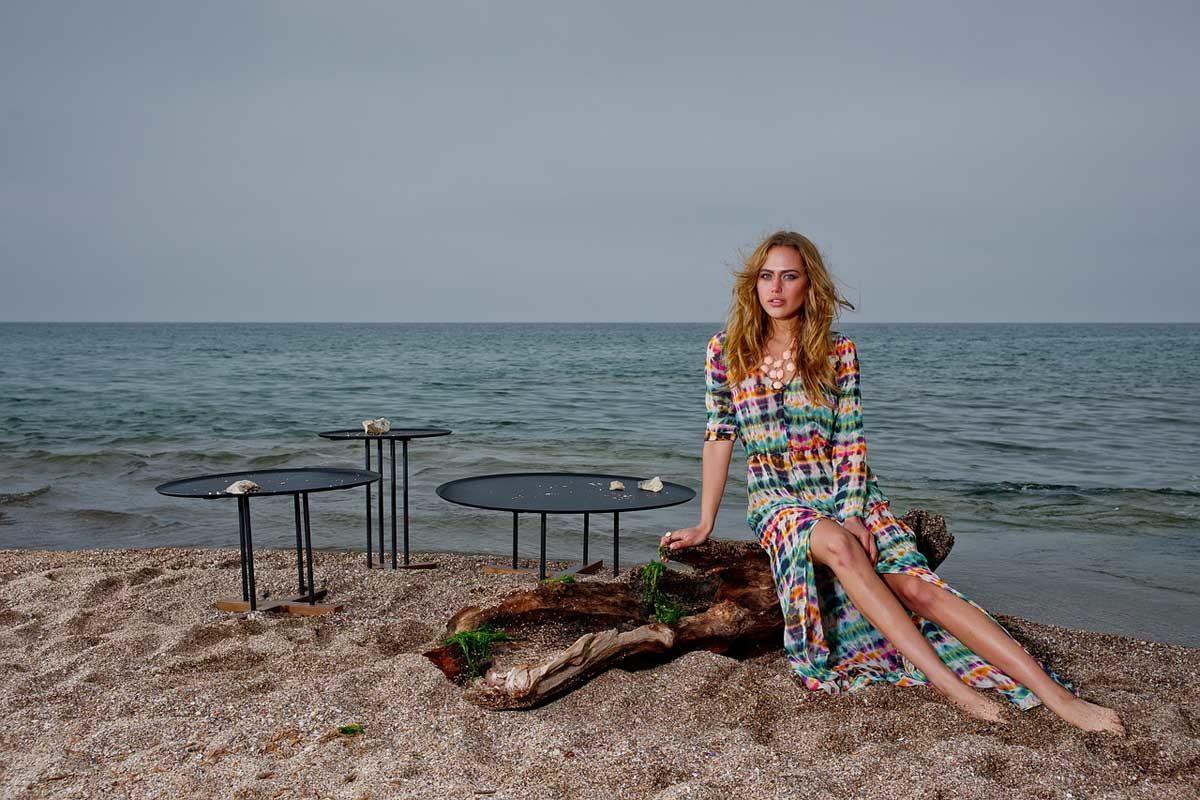 Batik Kleid Strand