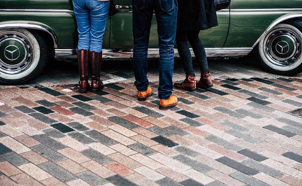 Boots Herrenjeans Auto