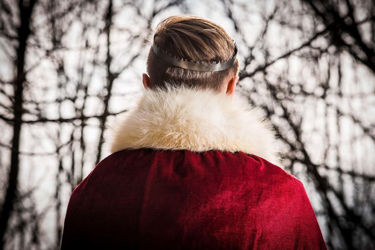 Felljacke Mantel Frisur
