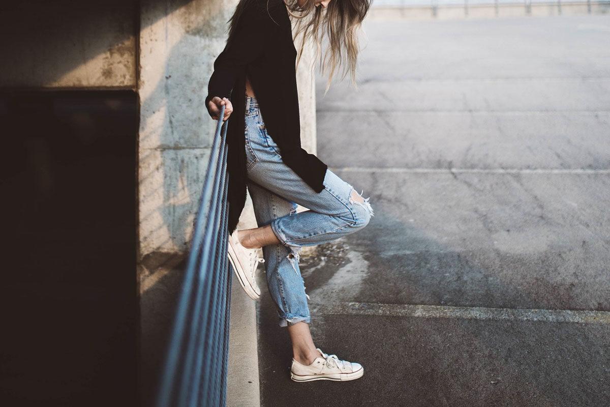 High Waist Pullover