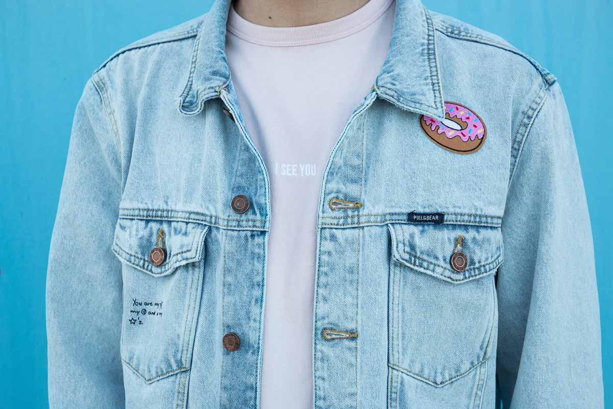 Jeansjacke Shirt Donut