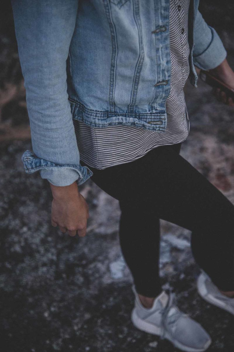 Layering Look Jeans