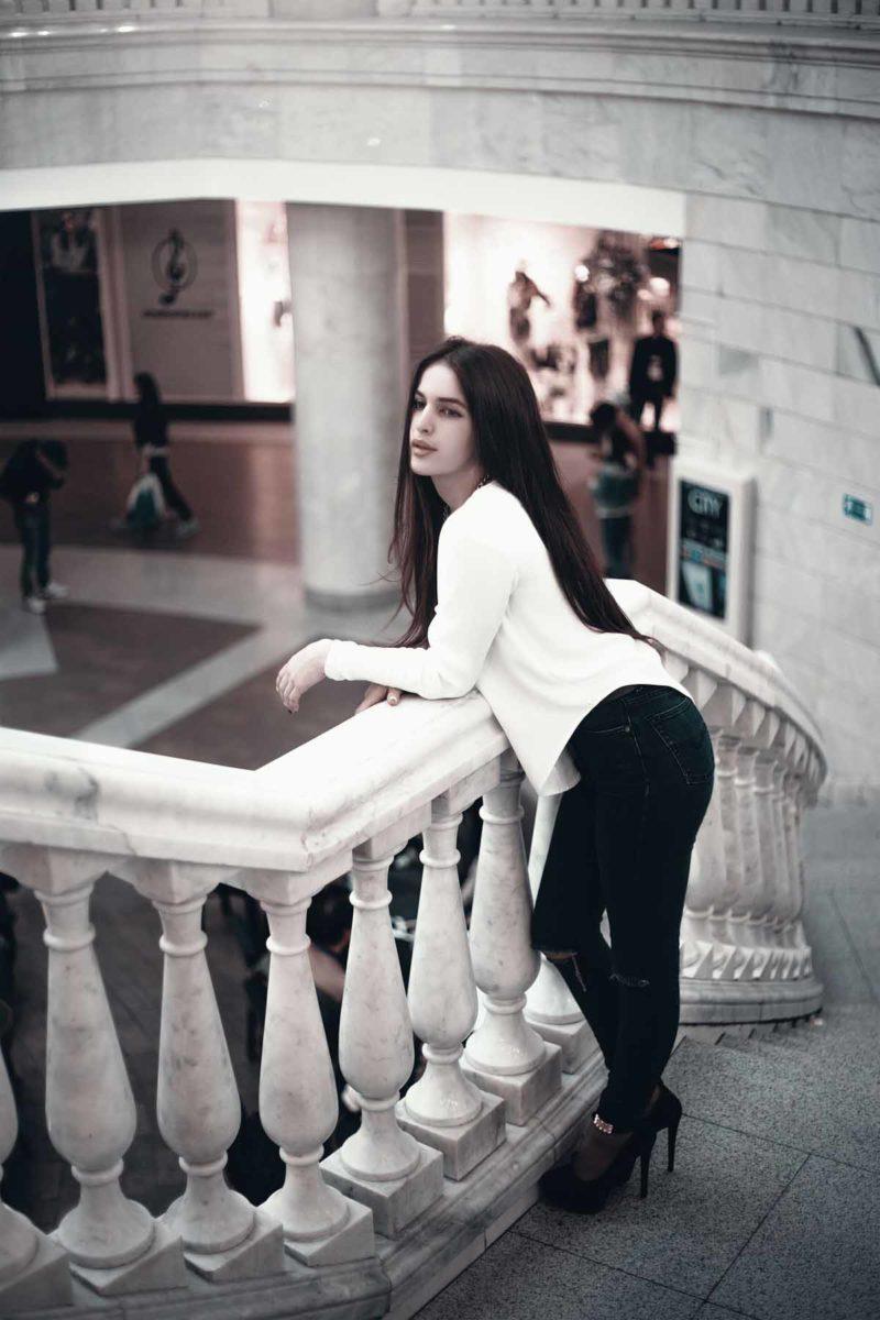 Treppe Hose Pullover
