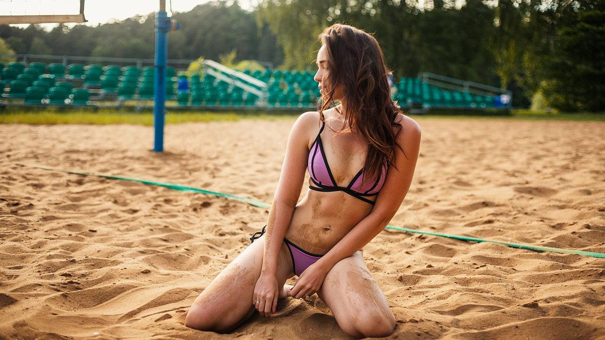 criss cross bikini sport