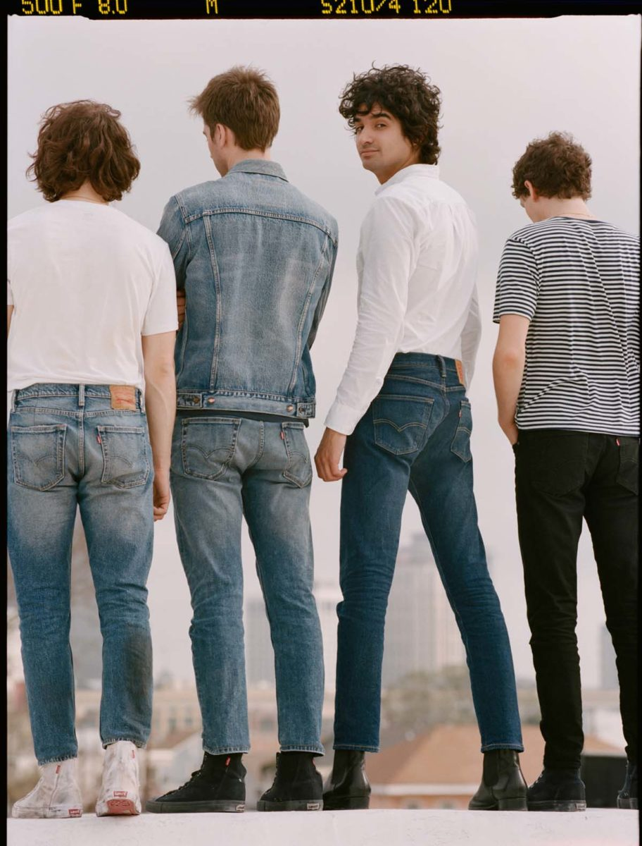 levis jeanshose herrenjeans jeansjacke