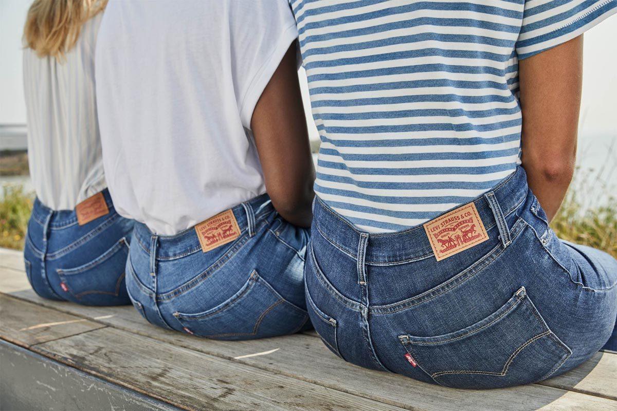 levis shaping jeans damenjeans
