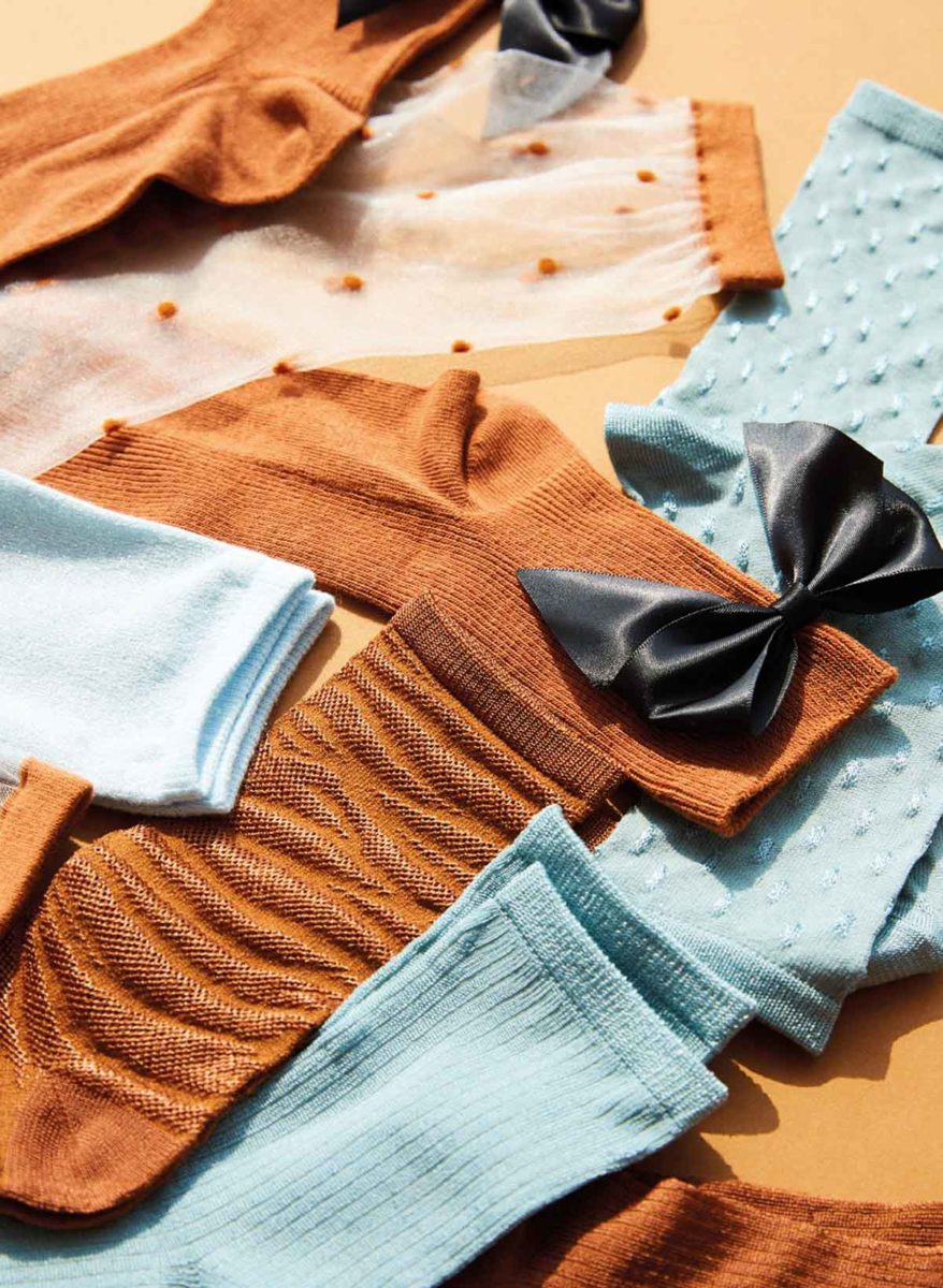 schleife socken leggings strumpfhose